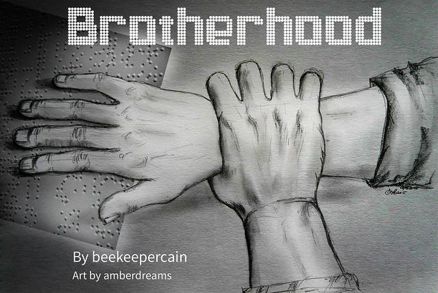brotherhood hands-banner white
