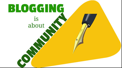 Blogging-is-about-community