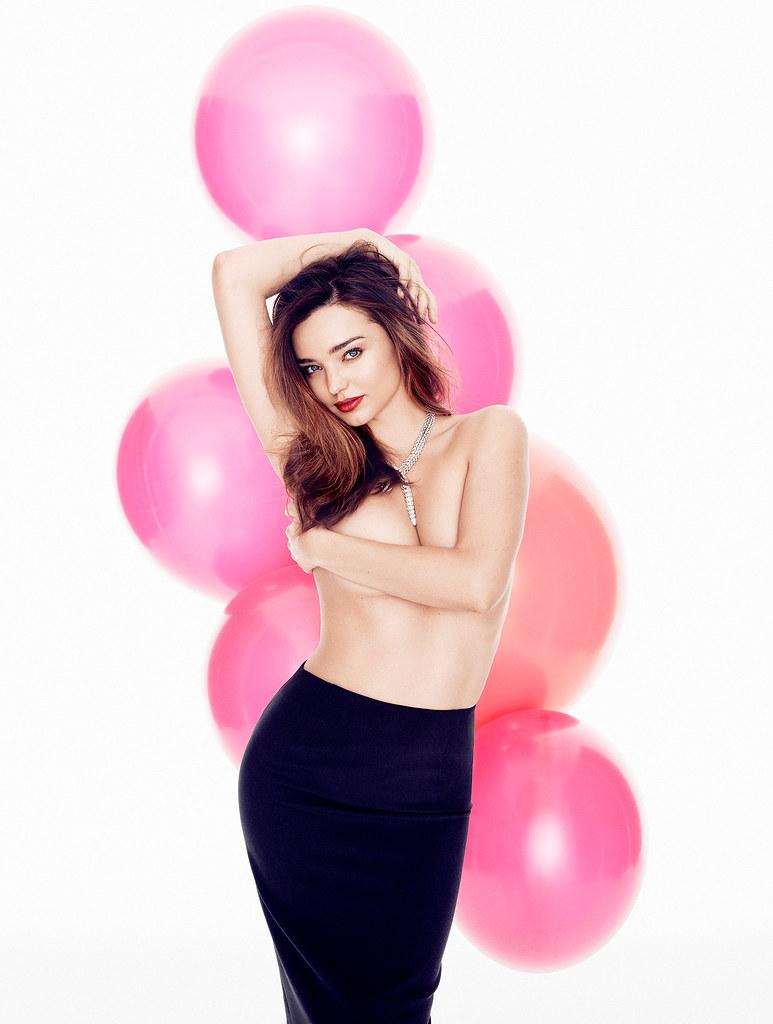 Миранда Керр — Фотосессия для «Glamour» ES 2014 – 1