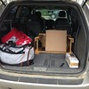 Packing the van for daughter #4.