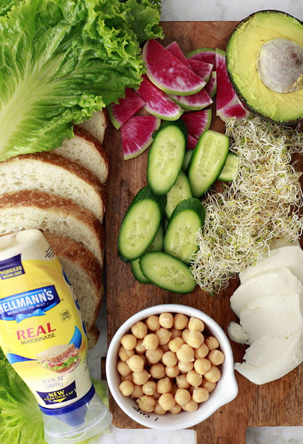 chickpea sandwich ingredients