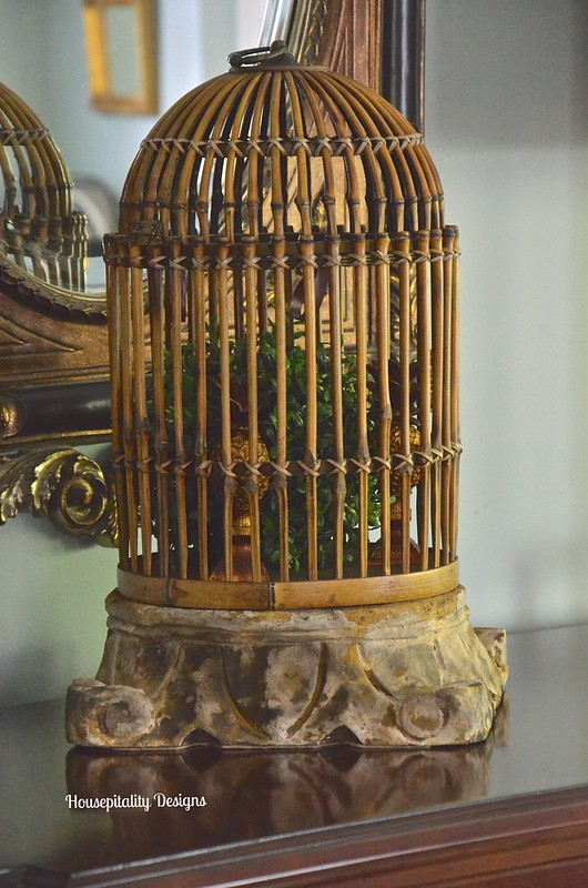 Bamboo Bird Cage - Housepitality Designs