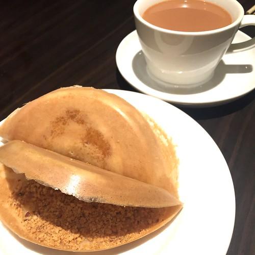 Ban Chang Kueh & Teh Tarik Kosong at White Rose Cafe, York Hotel - Penang Hawker Fest Sep 2015