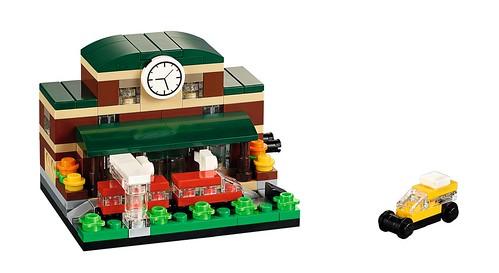 LEGO Bricktober Train Station 40142