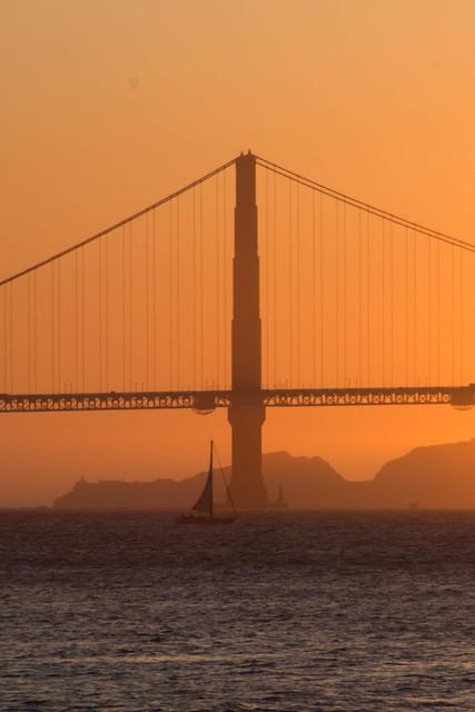 Golden Hour at Golden Gate