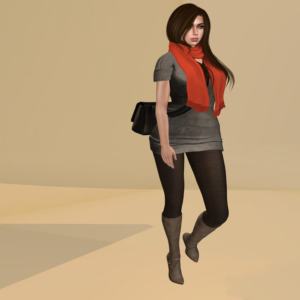 Ellie mini dress, group gift @ Appear