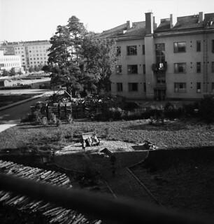 Helsinki 4.10.1946, residential area