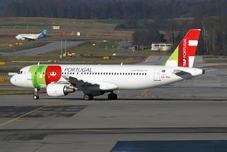 """TAP Air Portugal Airbus A320-214 CS-TNJ """"Florbela Espanca"""""""