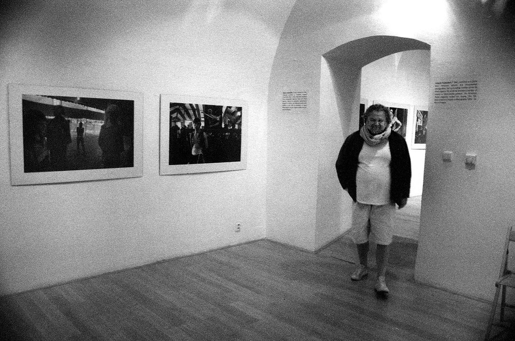 Antonín Kratochvíl - výstava Sideshow