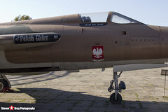 59-1822 RE - D92 - USAF - Republic F-105D Thunderchief - Polish Aviation Musuem - Krakow, Poland - 151010 - Steven Gray - IMG_9824