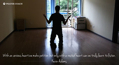 Anxious Rested Heart - Kevin Adams Quote