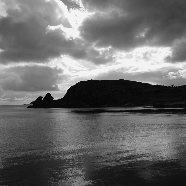 Elevation Of Isle Of Islay UK