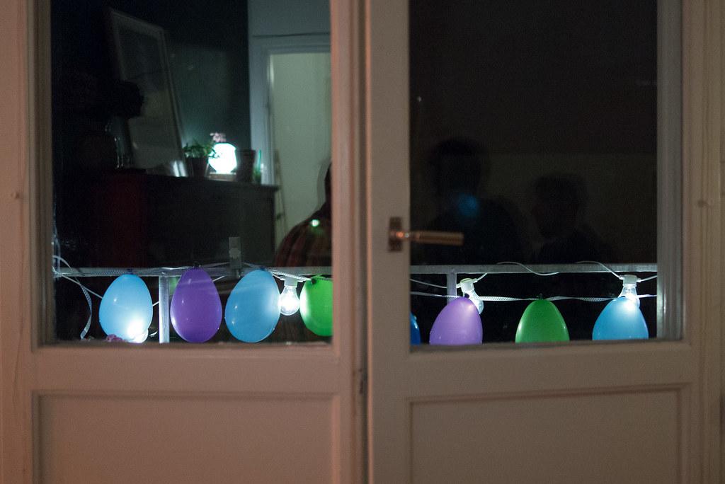 Housewarming party at Moa & Jocke