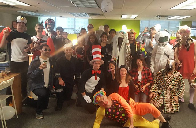 Halloween at Enernoc Vancouver.