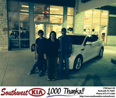 #HappyBirthday to Christie from Gary Guyette Jr at Southwest KIA Rockwall!
