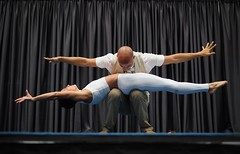 AcroYoga performance at Divine Play