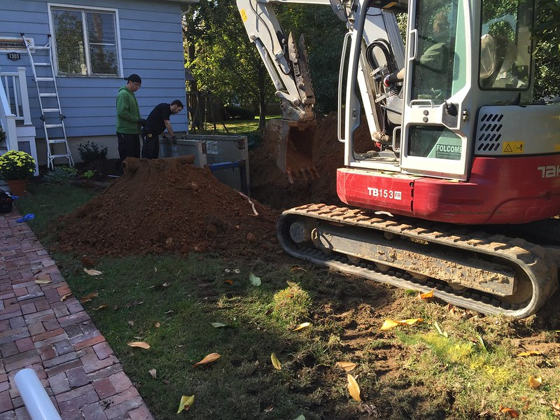 Expensive hole in the yard
