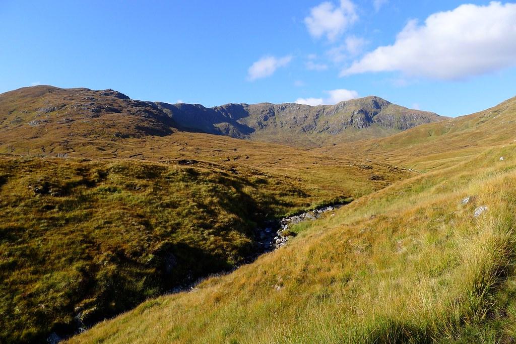 An Socach above the Allt Coire Ghaidheil