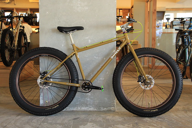 Surly, Salsa Cycles, Jones Bikes, Bromptonの試乗車を用意しています。