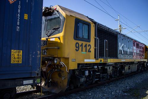 DL 9112 at Marton Station NZ