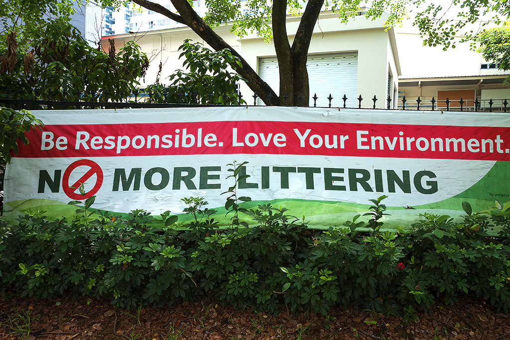 Be Responsible Love Your Environment--Singapore