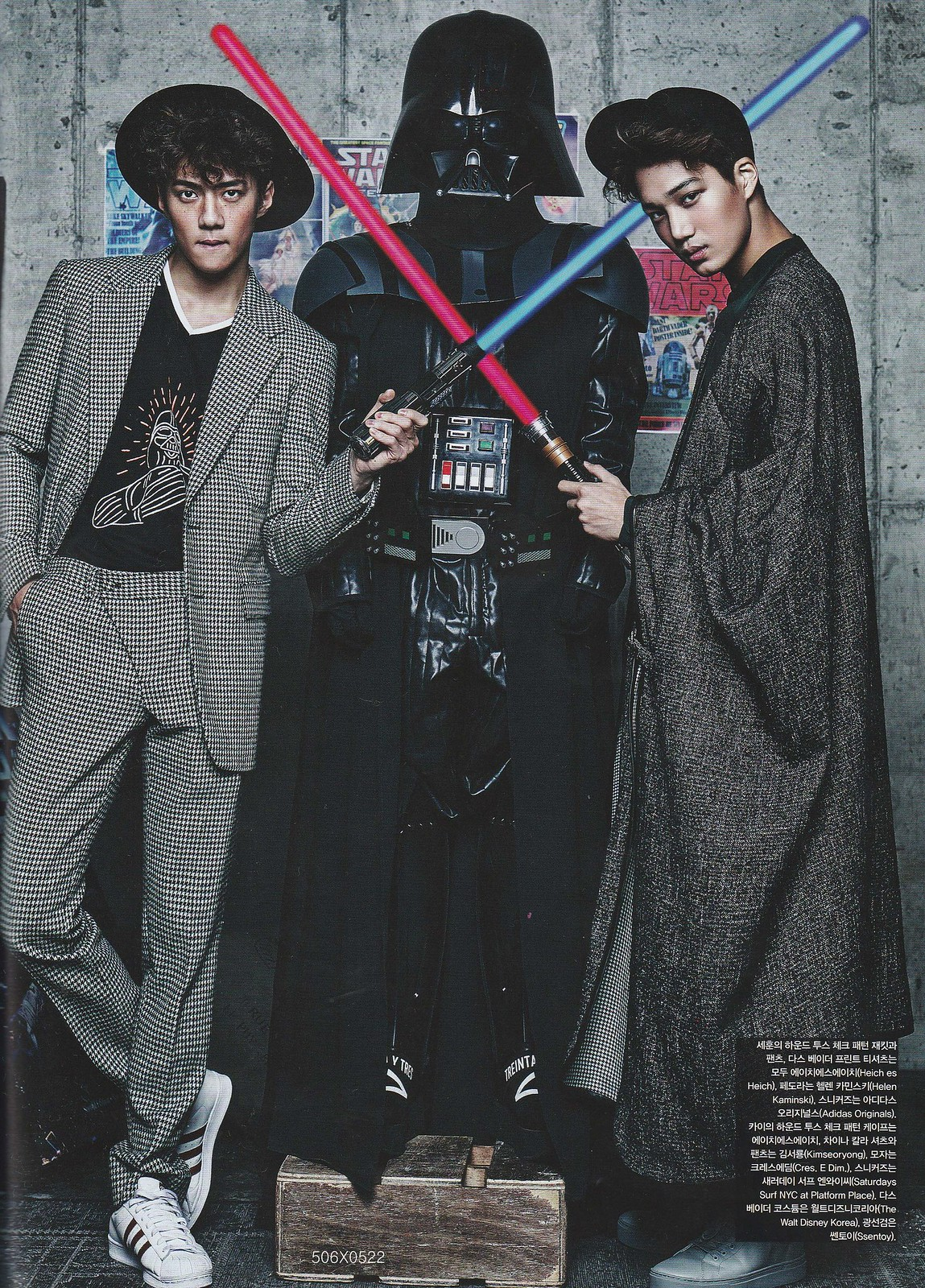 Chen Exo 2019 >> More pictures from the Exo+Star Wars photoshoot - OMONA