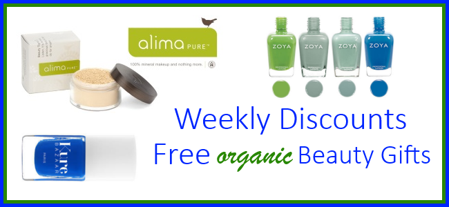 Weekly Discounts and Free Organic Beauty Gifts #41