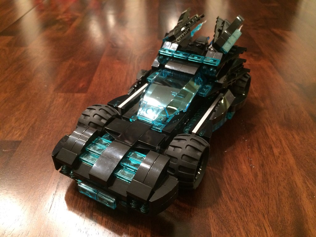 Electro-Suit inspired Batmobile Updated
