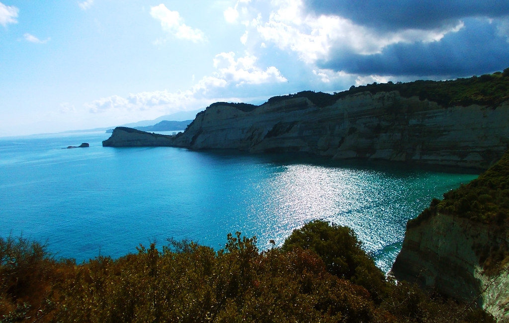 Cape Drastis, Corfu, Greece