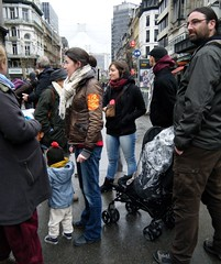 climate protest Brussels