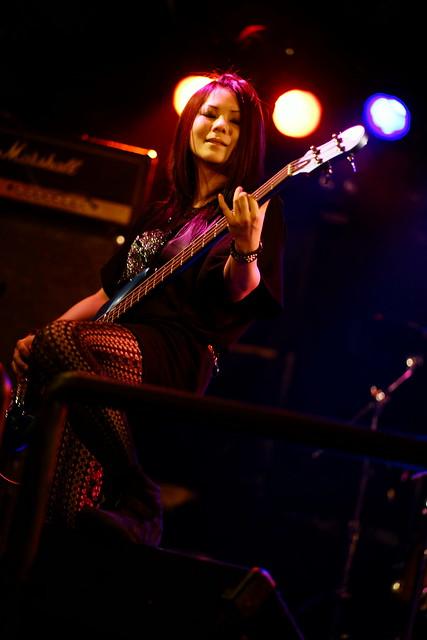 Bubble No.7 live at Outbreak, Tokyo, 12 Nov 2015. 064