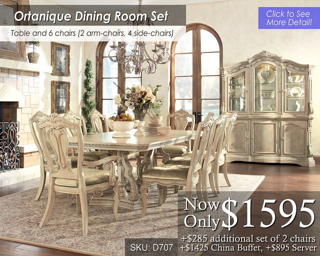 Ortanique Dining Set