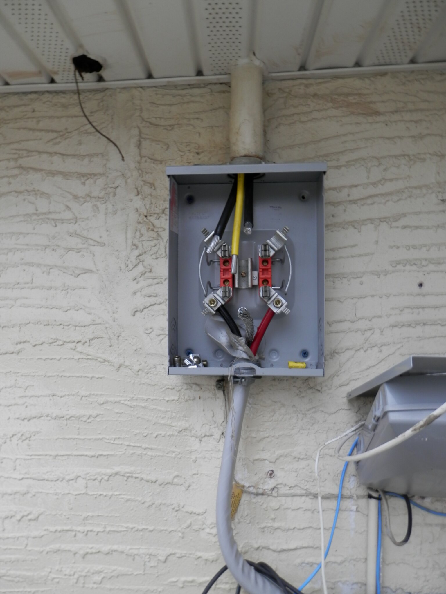 a meter base wiring weather head to socket meter ser/seu cable upgrade - page ...