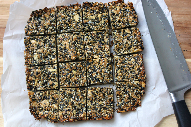 Sesame Almond Snacks
