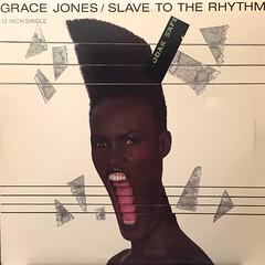 GRACE JONES:SLAVE TO THE RHYTHM(JACKET A)