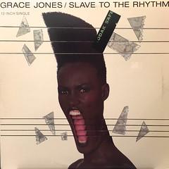 GRACE JONES:SLAVE TO THE RHYTHM(JACKET A)