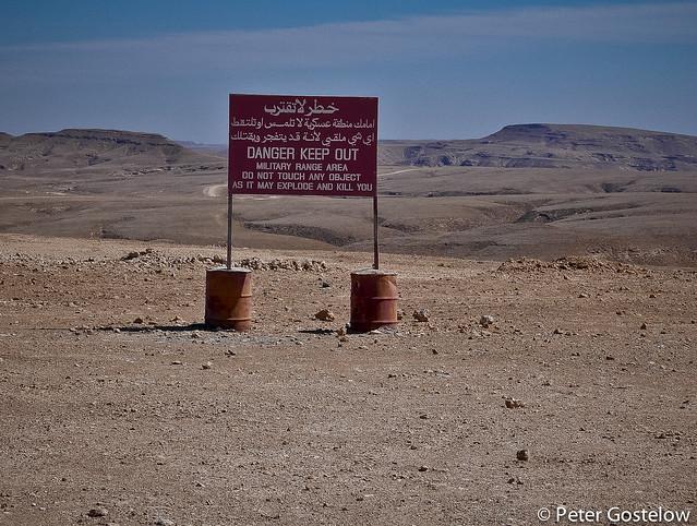 Desert sign-post