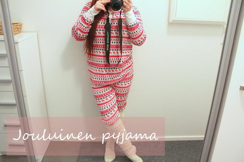 jouluinen pyjama