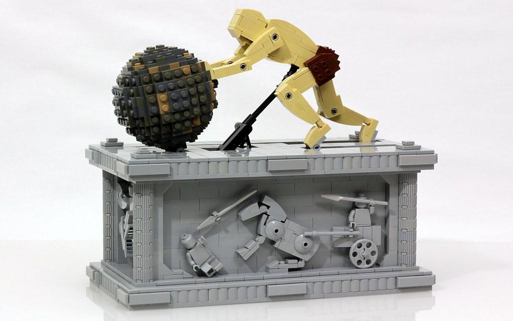 Μηχανοκίνητο άγαλμα του Σίσυφου από τον Jason Allemann 23243666182_fd048daa69_b
