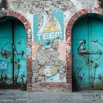 Doorways, Jacmel Style - Haiti
