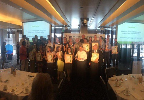 Awardees of the 2015 LGNSW Excellence in the Environment Awards