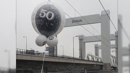 Cloudbuster Rond Jubileum Botlekbrug Storing #50