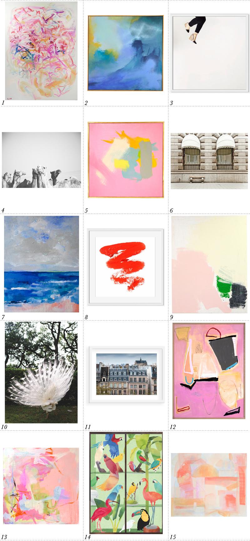 2015 Art Favorites