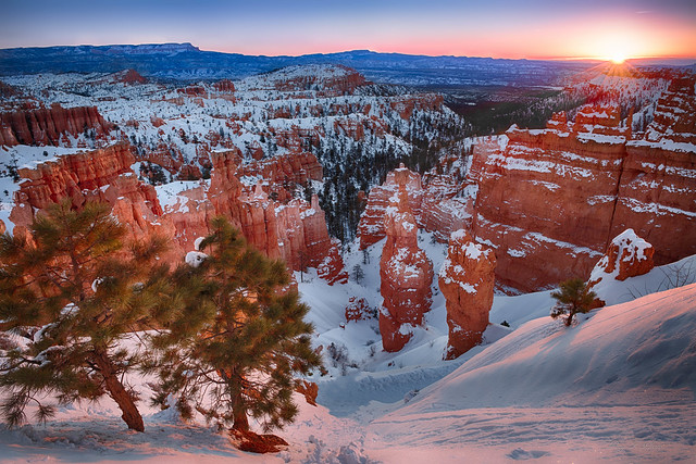 Sunrise at Bryce Canyon --- Happy New Year
