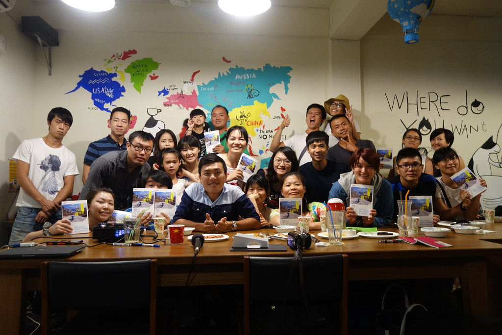 2015.07.04 台中-找路咖啡《我在西藏曬靈魂-新書分享會》