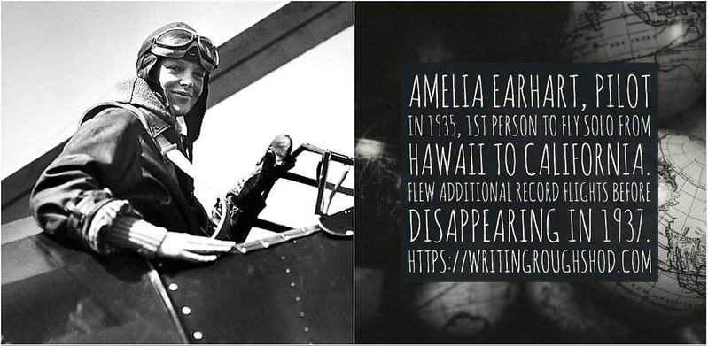 AMELIA EARHART #100travelHERS