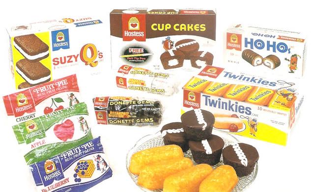 1985 Hostess Snacks