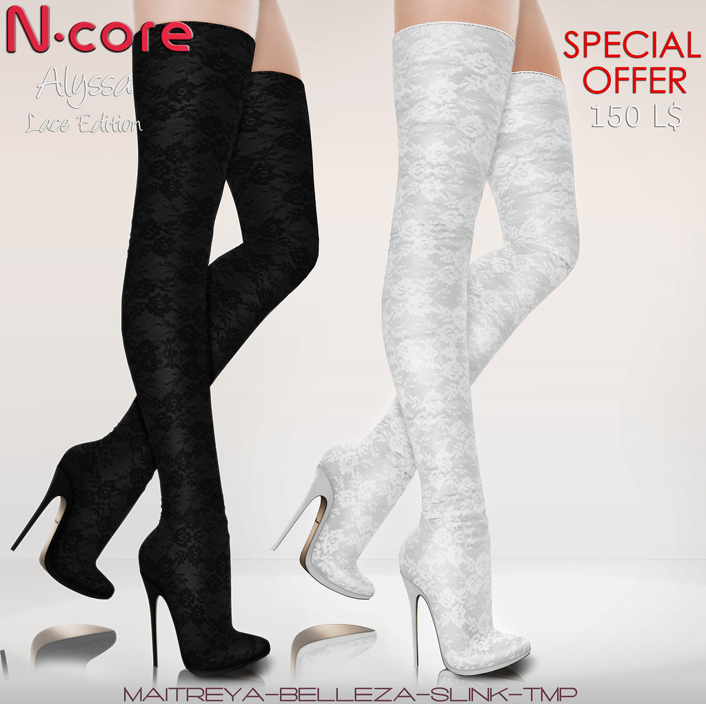 "N-core Special Offer! ALYSSA ""Lace Edition"" - SecondLifeHub.com"