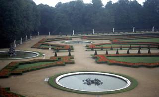 Park of Versailles, France 1981