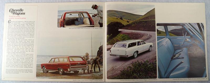 RD12674 1966 Chevy Chevrolet Chevelle Super Sport SS Malibu Brochure Catalog DSC08666